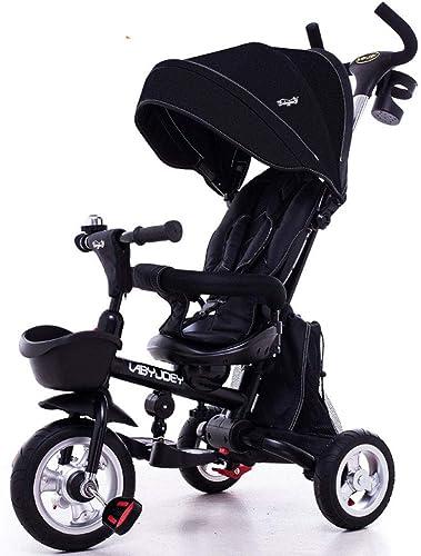 buscando agente de ventas TRICYCLE Niños Plegables 4 4 4 en 1 Trike Triciclo guiado para Niños con Asiento Giratorio y reclinable de 360 ° para Niños pequeños  ahorra 50% -75% de descuento