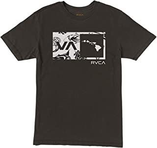 RVCA Men`s Islands Balance Box Fill T-Shirt