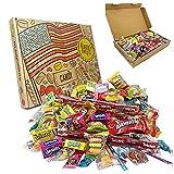 Americano Caramella Dolci americani Scatola Per Feste. 120 pezzi! Caramelle americane classiche Airheads, Laffy-Taffy, Twizzlers, Nerds, Jolly Ranchers! Caramella di Halloween ideale!