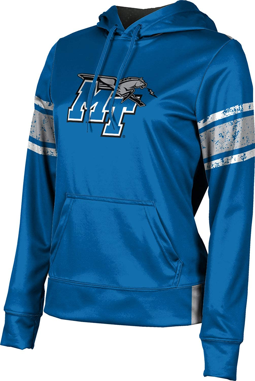 ProSphere Middle Tennessee State University Girls' Pullover Hoodie, School Spirit Sweatshirt (End Zone)