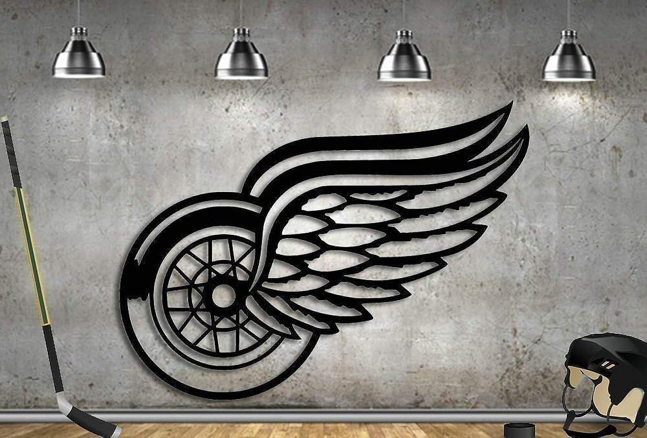 Hockey Sign Detroit Hockey Metal 31