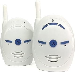 OSEI ベビーモニター Baby monitor デジタルオーディオベビーモニター 2.4GHz双方向音声 サウンドアラーム ベビー看護 見守り 防犯 介護 遠隔監視 子育て応援アイテム 赤ちゃん 出産祝い (ホワイト)