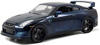 مجسم سيارة نيسان جي تي ار من فاست اند فيوريس باللون الازرق 1-24