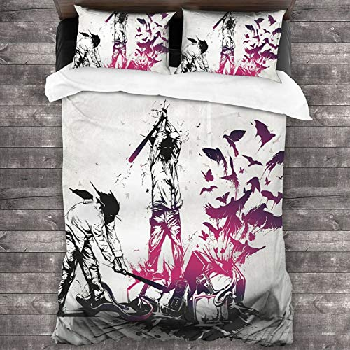 Three Days Grace One X Elegant and Comfortable, Soft and Fashionable Bed Sheet Set with 2 Pillowcases, Personalized Bed Bedroom Design Decoration Room Home One Size