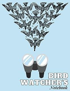 Bird Watcher's Notebook: Bird Watcher Gifts - Paperback Journal to write in
