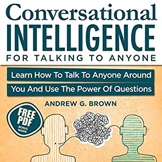Conversational Intelligence for Talking to Anyone audiobook cover art
