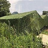 XYL Tela Red de Camuflaje - Malla de Camuflaje Militar 2x3m 3x4m 5x6m 8x10m Toldo Camping para Jardín Patios Invernadero Decoración de Sombrilla Caza Disparo