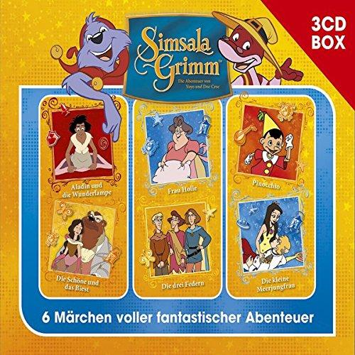 SimsalaGrimm 3-CD Hörspielbox Vol.4