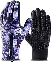 ETbotu outdoor waterdichte camouflage sport touchscreen handschoenen skiën wandelen vissen volledige vingerhandschoenen me...
