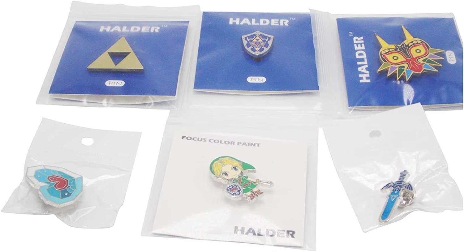 The legend of Zelda Pins, for Backpacks, Jackets, Shirts, Bags, cap