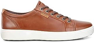 أحذية رياضية رياضية للرجال ناعمة 7 مساير للموضة من ECCO باللون الكهرماني مقاس 10-10. 5، مقاس أوروبي 44