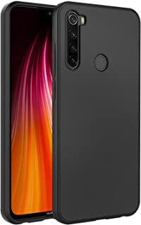 Redmi Note 8 Case Cover - Soft Flexible Shock Absorbent Protective Phone Cover for Xiaomi Redmi Note 8 Matte Black by Nic...