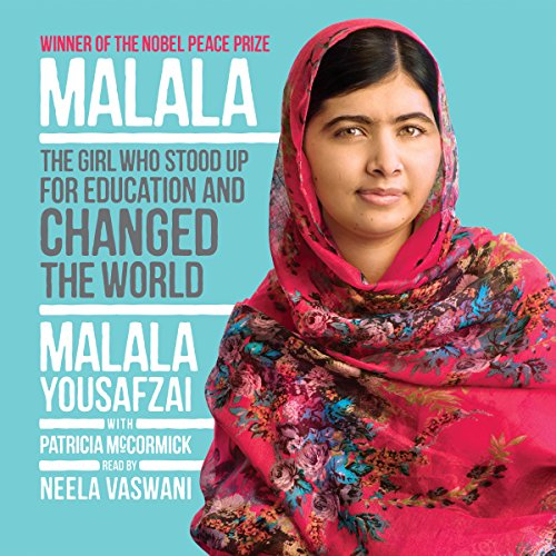 Malala audiobook cover art
