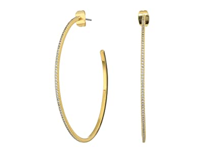 gorjana Shimmer Hoops Earrings (Gold 1) Earring
