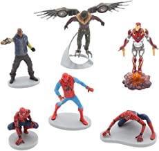 Marvel Ney Store Spider-Man Figure Play Set ~ 6 Piece by Disney