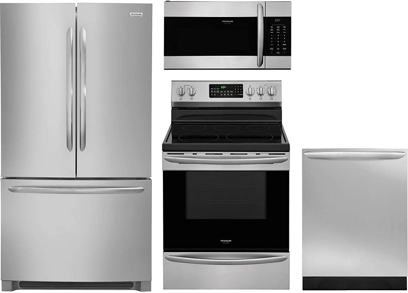 Frigidaire 4 Piece Kitchen Package with FGHN2868TF 36
