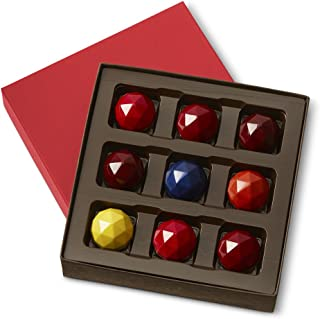 KOHLER Original Recipe Chocolates Rare Facet 9 Piece Box, Luxury Fruit Flavored Chocolates Great for any Gift Giving Occasion