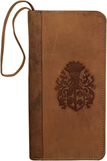 Style98 Brown Passport Wallet