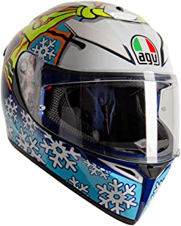 AGV K3 SV-S Winter Test 2016 Casco Integral De Moto Talla ML