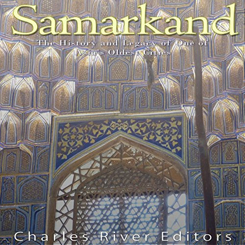 Samarkand audiobook cover art