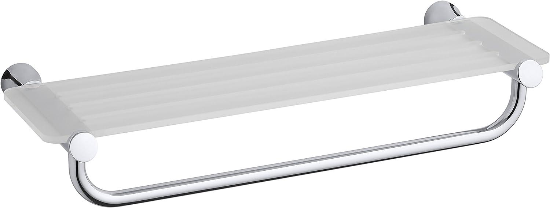 KOHLER K-5677-CP Toobi Hotelier Shelf, Polished Chrome