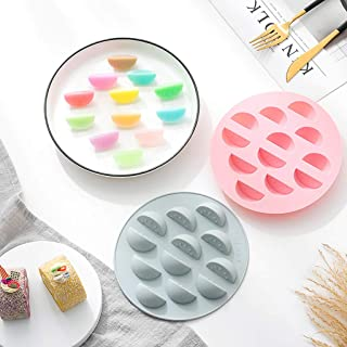 C-Easy DIY Cake Mold Fondant Mould Tray, 3D Creative Watermelon Styling Fruit Silicone Chocolate Icing Mould Wedding Baking Molds Decoration - Durable, Non-toxic