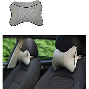 1Pc Soft Auto Car Seat Headrest Pillow Breathable Head Neck Support Cushion Pad 3