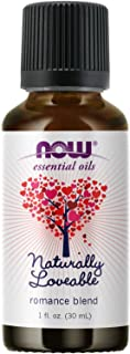 NOW Essential Oils, Naturally Loveable Oil Blend, Romantic Aromatherapy Scent, Blend of Pure Essential Oils, Vegan, Child ...