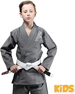 Venum Kids Contender BJJ Ju Jitsu Gi Suit - Grey - NEW