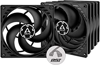 ARCTIC P14 PWM PST Value Pack - 140 mm Case Fan with PWM Sharing Technology (PST), Five Pack, Pressure-optimised, Compute...
