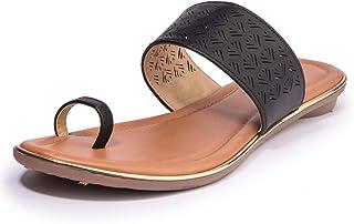 Khadim's PVC Sole Laser-Cut Flats for Women