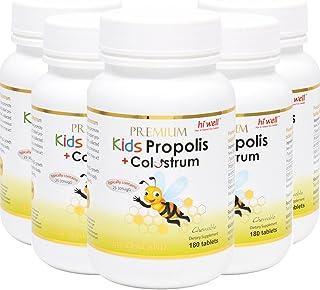 Dietary-Supplement for Kids Propolis Plus Colostrum 180Tablets (5 Bottle)