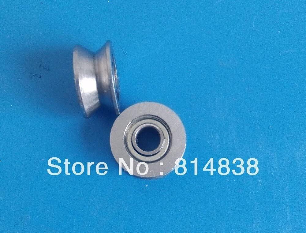 Vivona Shafts V623 New product! New type ZZ 3x12x4 Groove 100 Piec trend rank Bearing Ball Sealed