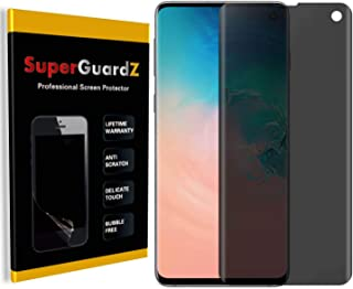 for Samsung Galaxy S10 Screen Protector [Privacy Anti-Spy], SuperGuardZ, Anti-Glare, Anti-Scratch, Anti-Bubble [Lifetime R...