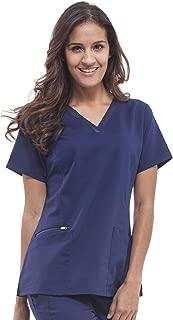 Purple Label Women's Jasmine 2278 V-Neck Top Scrubs