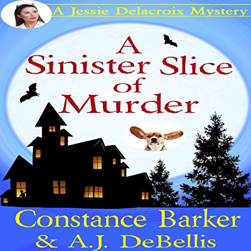 A Sinister Slice of Murder audiobook cover art