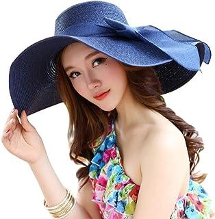 NW 1776 Sun Hat Summer Hat with Hat Straw Hat Ladies Beach Hat