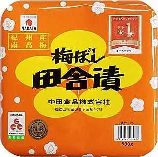 中田食品 紀州梅ぼし 田舎漬 600g