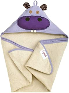 3 Sprouts Hooded Towel – Soft Cotton Hooded Baby Bath Towel for Toddler, Infant