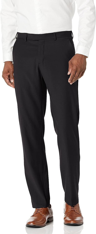 Perry Ellis Men's Portfolio Deluxe Modern Front Fit Max 86% OFF Bengaline Pant Flat