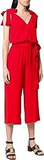 Michael Michael Kors Womens Ring Belt Jumpsuit Red Small