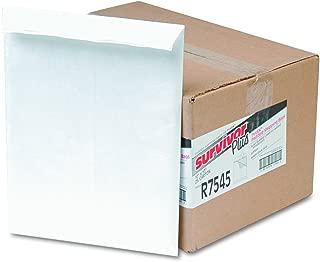 Survivor R7545 DuPont Tyvek Air Bubble Mailer, Self Seal, 10 x 13, White (Box of 25)