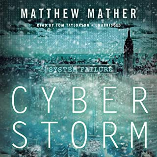 CyberStorm audiobook cover art