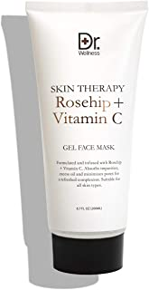 Sponsored Ad - Dr. Wellnes Skin Therapy Rose Hip + Vitamin C Gel Face Mask