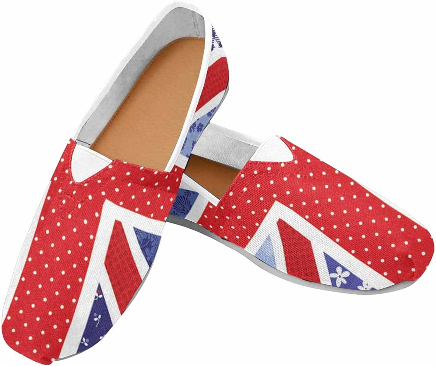 Women Flat Canvas shoes with Padded Insole