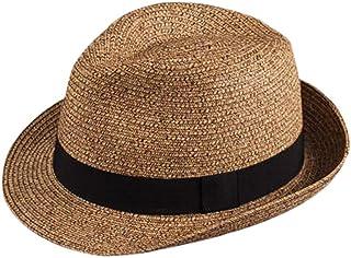 6 cm Hecho a mano en Ecuador Jack Carrera Puerto Cayo Panama Sombrero para mujer//hombre Sombrero de fibra 100 /% natural Calidad 3 Ancho de ala aprox