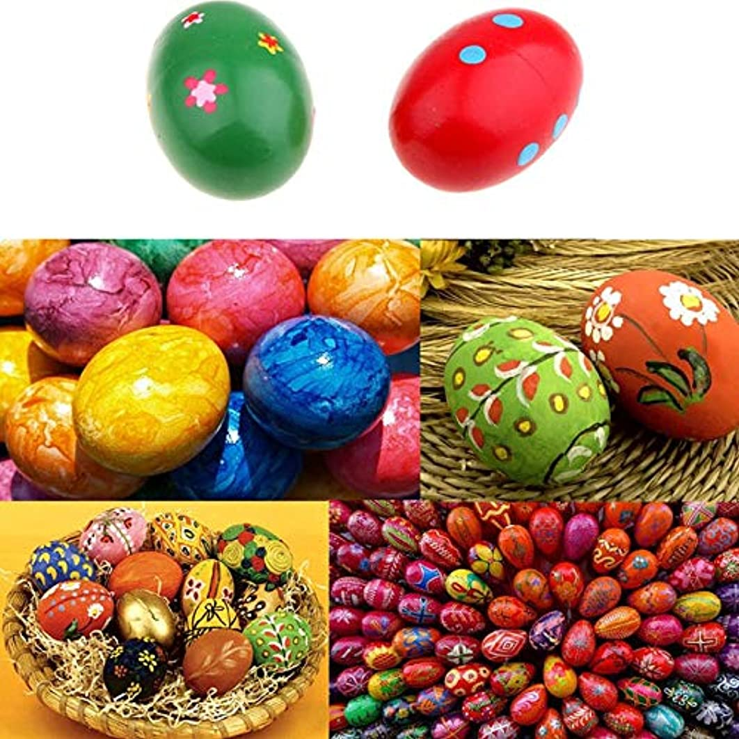 Kitchen Toys - 5pcs Set Children Toys Diy Creative Simulation Wooden Easter Eggs And Pretend Play Game Food Kids - Beans Spider Jumping Jumper Rope Jump Frogs Baby