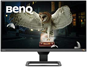 BenQ EW2780Q IPS Entertainment Monitor with HDMI connectivity HDR Eye-Care Integrated Speakers and Custom Audio Modes, Bla...