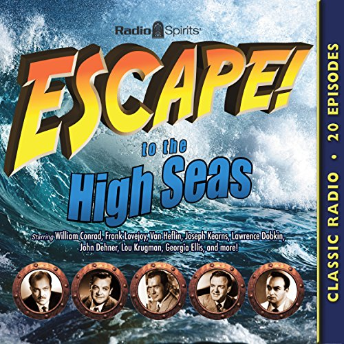 Escape to the High Seas audiobook cover art