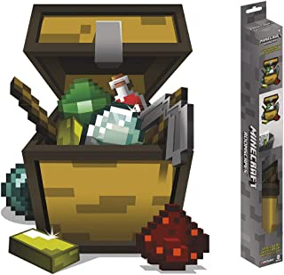 Trends International Minecraft Open Chest - ROOMSCAPES Poster Decal 18x24, Multicolor